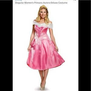 Disney Disguise Princess Aurora Deluxe Costume NEW